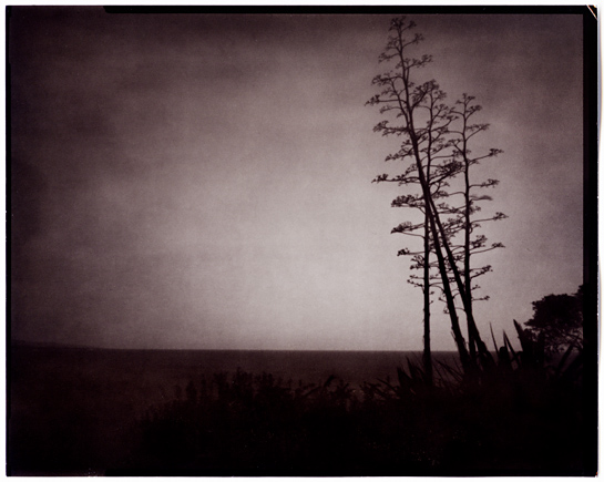Pinhole twilight seascape 01