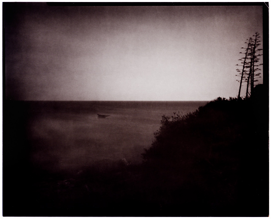 Pinhole twilight seascape 02